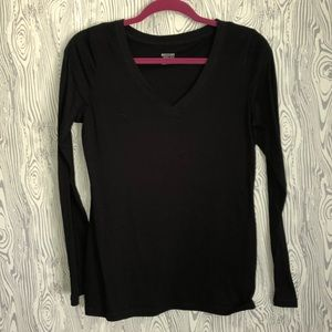 Simple Black Long Sleeve ~ size Medium